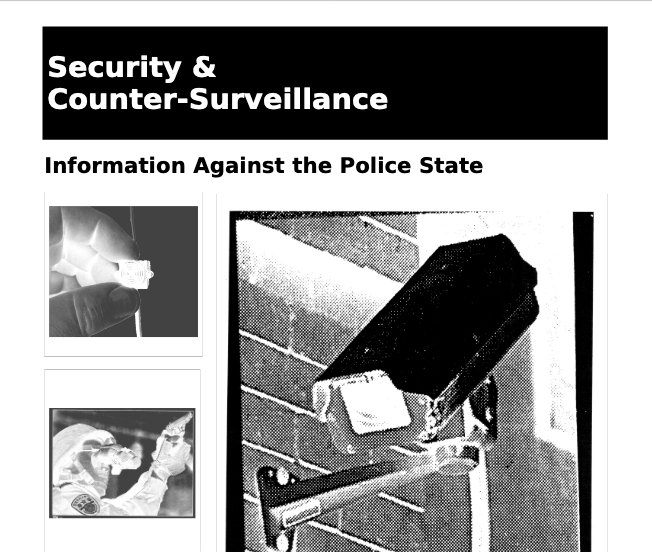 Security & Counter-surveillance