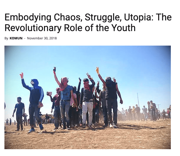 Embodying Chaos, Struggle, Utopia