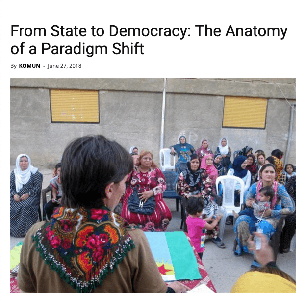 From State to Democracy