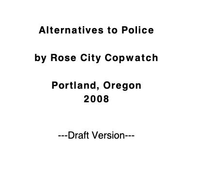 Alternatives to Police