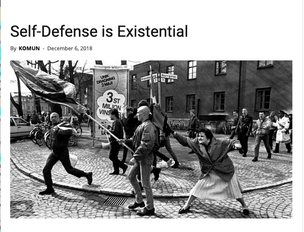 Self-Defense is Existential