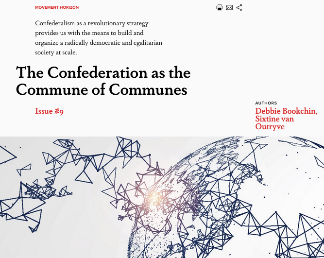 The Confederation as the Commune of Communes